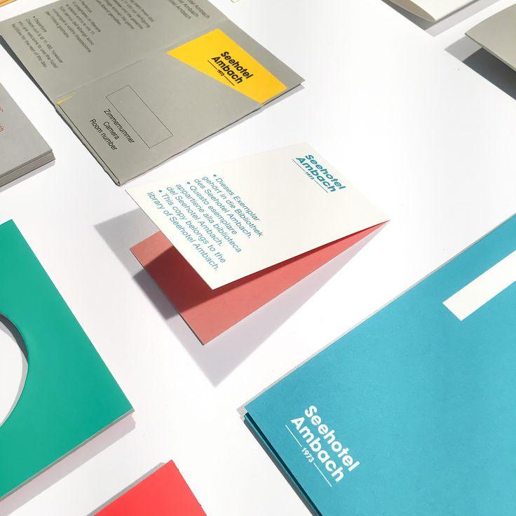 Stationary and other little printed stuff designed for Seehotel Ambach. Design: Studio Mut, Thomas Kronbichler, Martin Kerschbaumer | The Mutboard