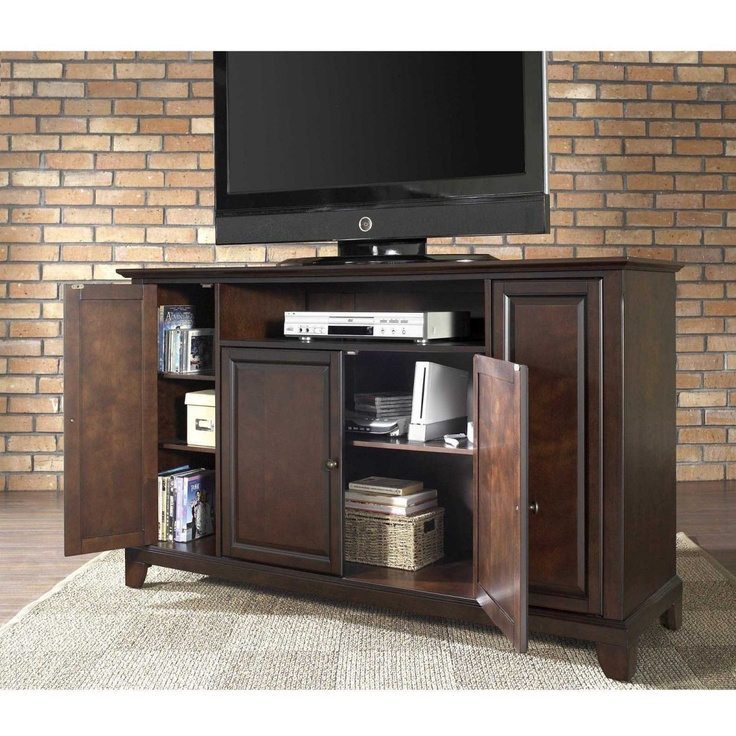 Crosley Newport 60 in. TV Stand - Vintage Mahogany - TV Stands at Buy Entertainment Centers $399
