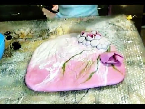 Felted wool bag tutorial - YouTube