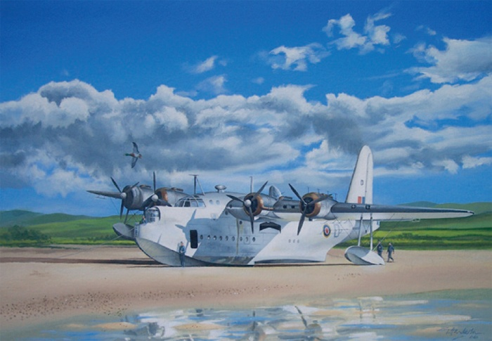 'The Day After' 2 - 246 Sqn Sunderland, on Islay