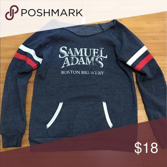 Samuel Adams Off The Shoulder Long Sleeve XL samuel adams Sweaters