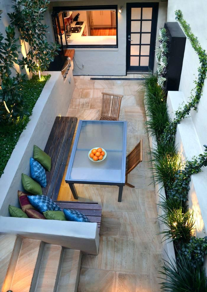 Narrow Outdoor Dining Table Brilliant Long Modern Patio And