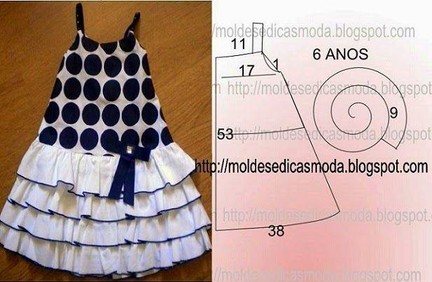 Fashion molds for Measure: CHILD DRESSES