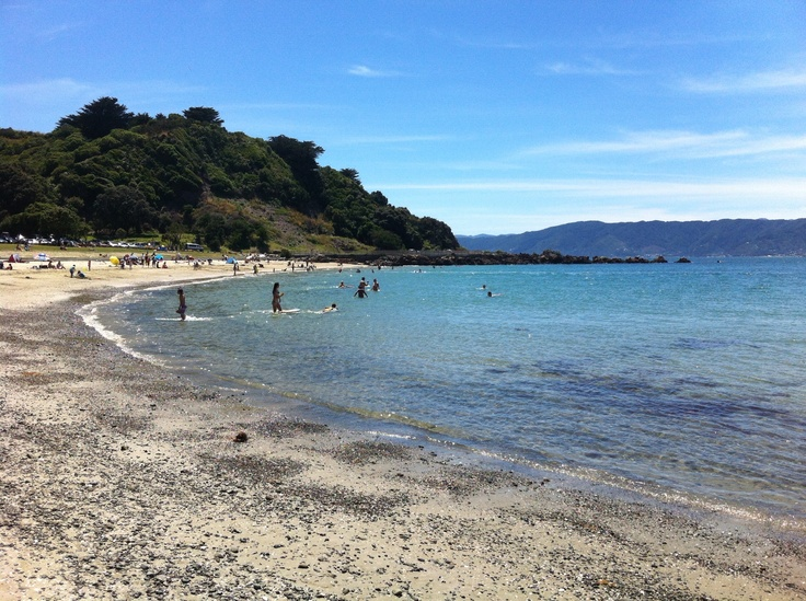 Scorching Bay Beach, Wellington