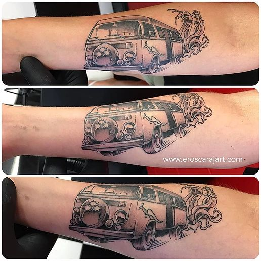 Van tattoo #Brisbane #Tattoo #Artist #Tattooist