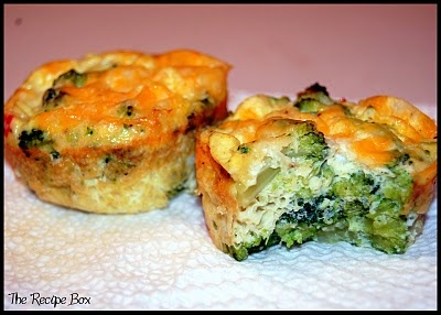 The Recipe Box: Recipe: Mini Baked Omelet Cups