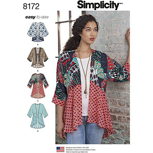 Simplicity 8172 Misses' Fashion Kimonos with Length, Fabr... https://www.amazon.com/dp/B01H91Q65U/ref=cm_sw_r_pi_dp_x_LNT.xb34P1087