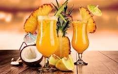 ital gyümölcs koktél ananász nyár