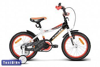 Kross Racer 2013, fehér-fekete-narancssárga gyerek kerékpár