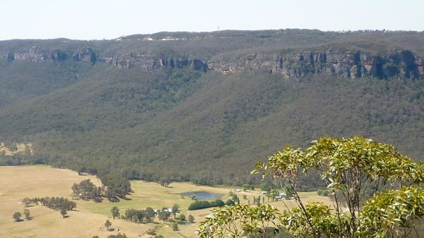 The Kanimbla Valley, The Blue Mountains, home to several tourist facilities, including Centennial Glen Stables