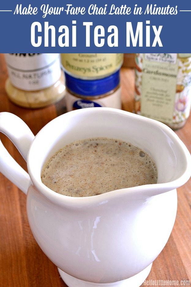 Make Your Fave Chai Tea In Minutes Recipe Tea Mix Recipe Chai Tea Recipe Chai Tea Latte Recipe