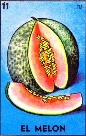 el melon loteria - Google Search