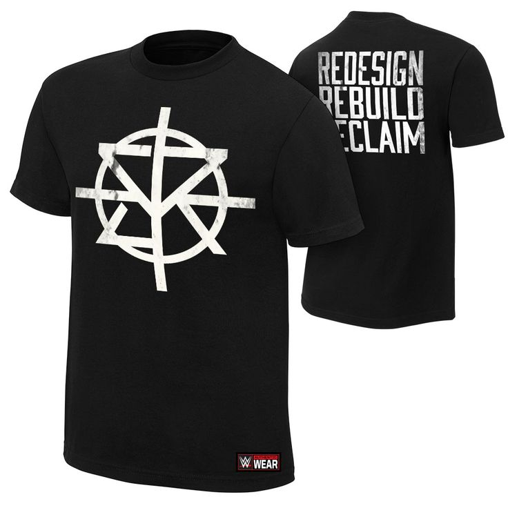 "Seth Rollins ""Redesign, Rebuild, Reclaim"" Authentic T-Shirt - WWEShop.com"