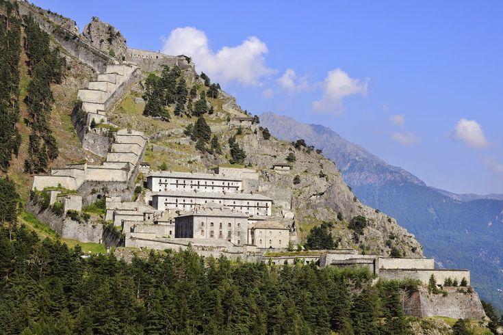 Forte di Fenestrelle - Torino - La più grande struttura fortificata d'Europa e la più estesa costruzione in muratura dopo la Muraglia cinese