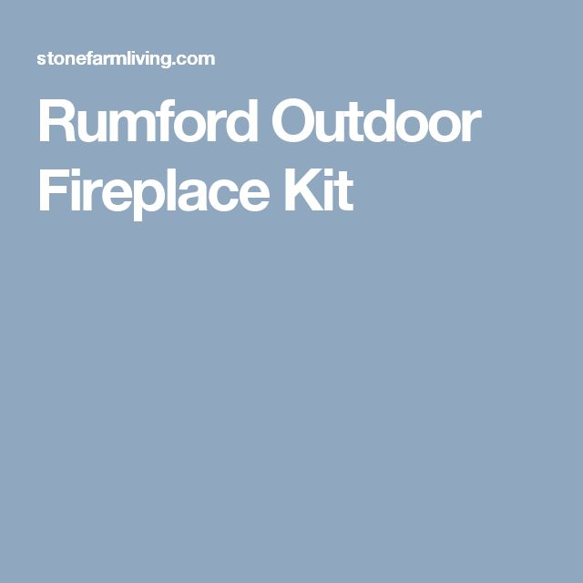 17 Best Ideas About Fireplace Kits On Pinterest Outdoor