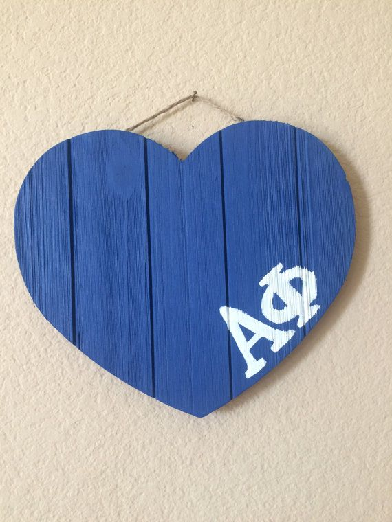 Customize with your sorority's letters!  Perfect for big/little basket
