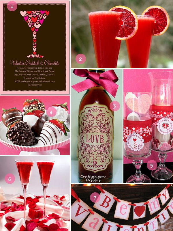 valentine's day party drinks