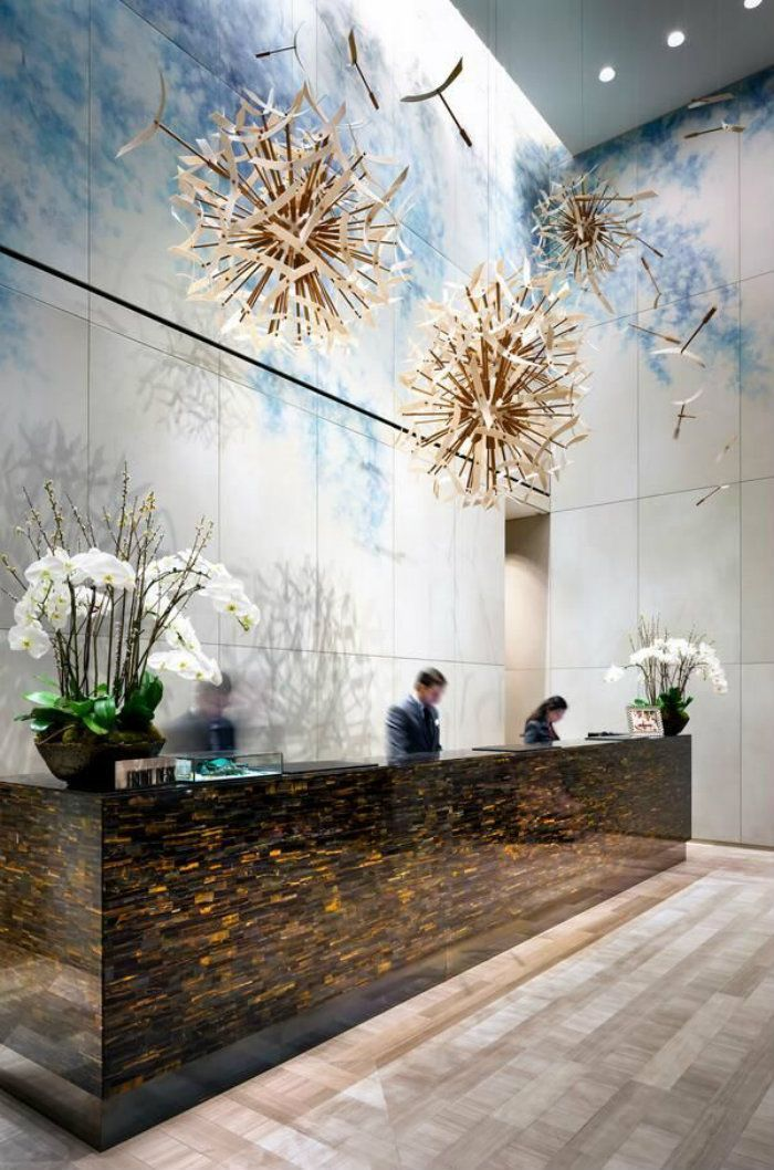 4410 best hotel reception lobby images on pinterest for Hotel lobby decor