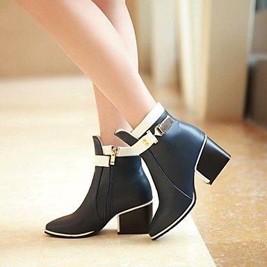 Decontracte chaussures Chaussure Talon Noir Gros Femme qZ6S6wIrv c019e8b749c6