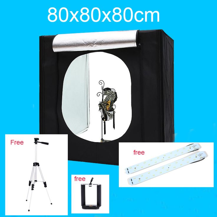 Sale 80 80 80CM Photo Studio Light Tent Lightbox Photography Softbox Shooting Light Box With Free Gift. Click visit to check price