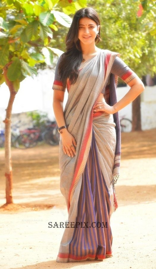 shruti-haasan-premam-saree-stills-