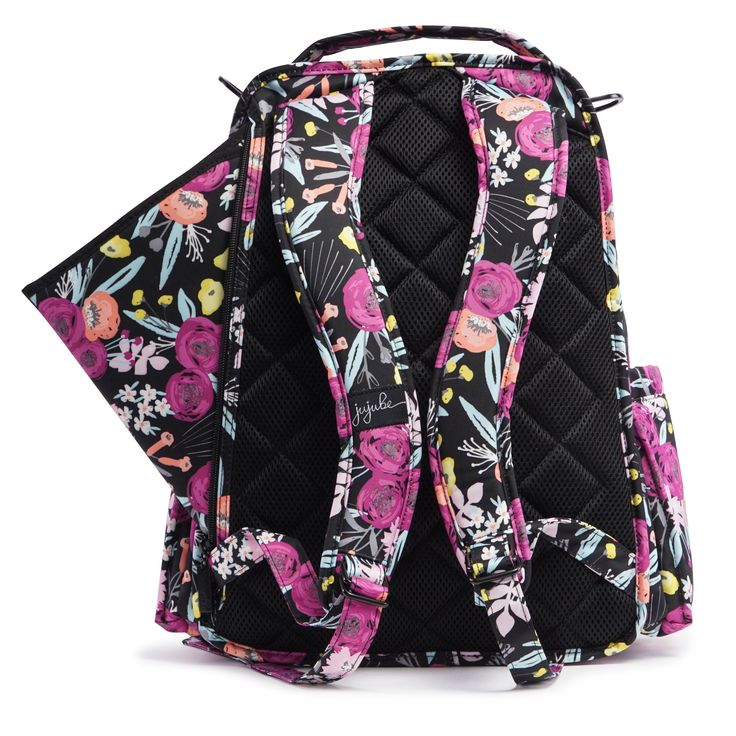 Ju-Ju-Be Onyx Be Right Back in Black & Bloom: 159.95 € / £132.00. Machine washable changing backpack.