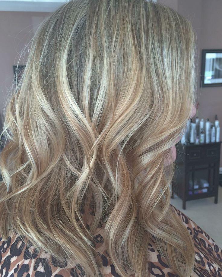 Warm Blonde highlights
