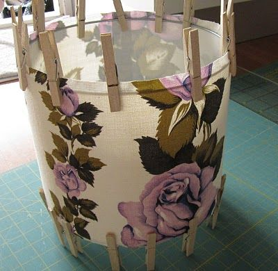 Diy how to make a lampshade from scratch abatjour for How to make a lampshade from scratch