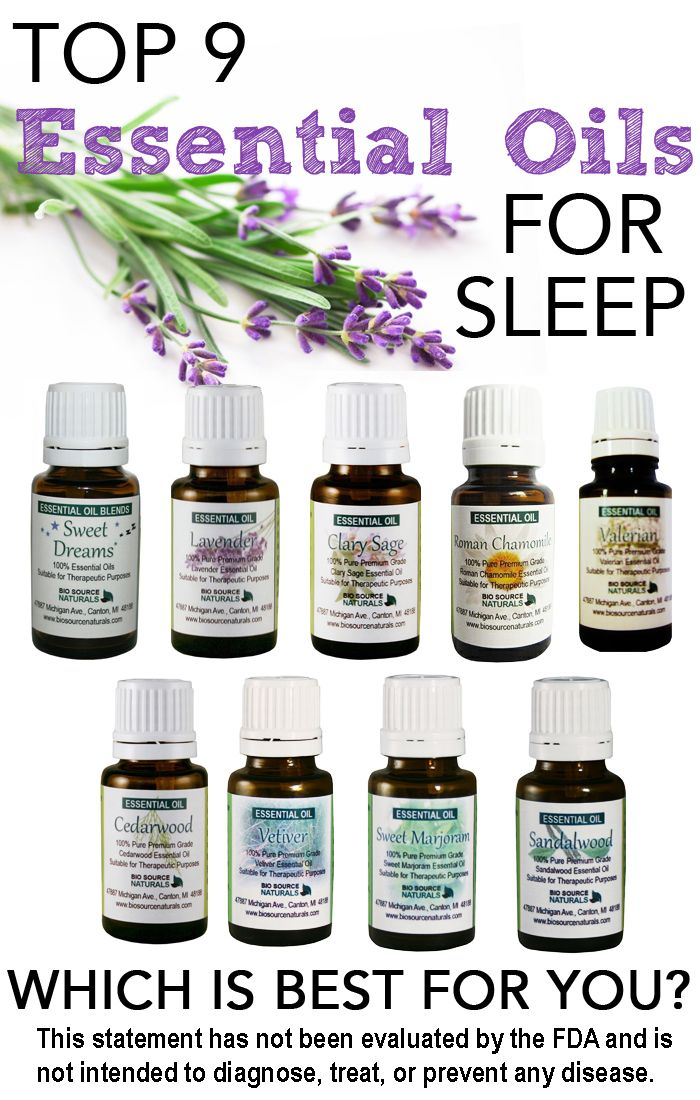 9 Essential Oils for Insomnia and Sleep Issues