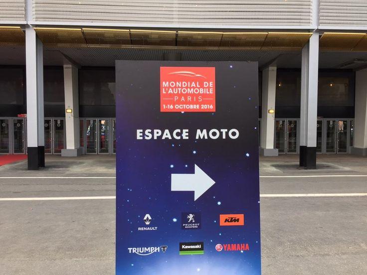 Les deux roues s'invitent au #MondialAuto sur un espace dédié situé devant le Pavillon 1 ! L'espace moto s'étend également sur les stands de certains constructeurs qui exposeront leurs modèles de motos !