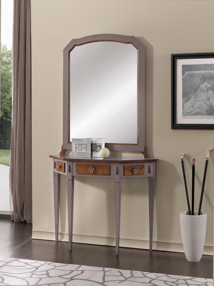 Console table and mirror set Catalog Zanini