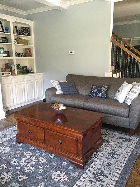 lazy boy furniture grey blue walls home depot rug