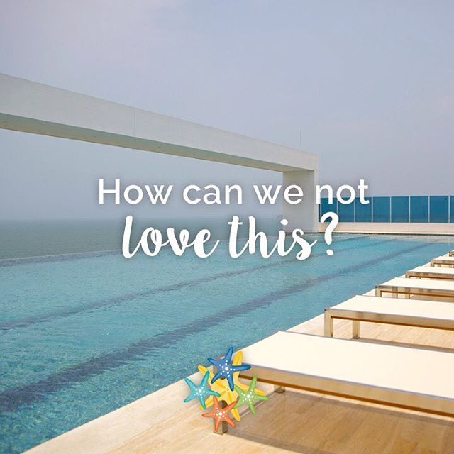 How will you describe the view?   www.hotellasamericas.com.co  #ElHoteldeLasEstrellas #Cartagena #Colombia #Caribbean #Inspiration #Quote #Travel #TravelTuesday #MartesViajero