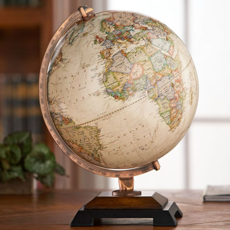 Our Bingham globe combines a handsome two tone