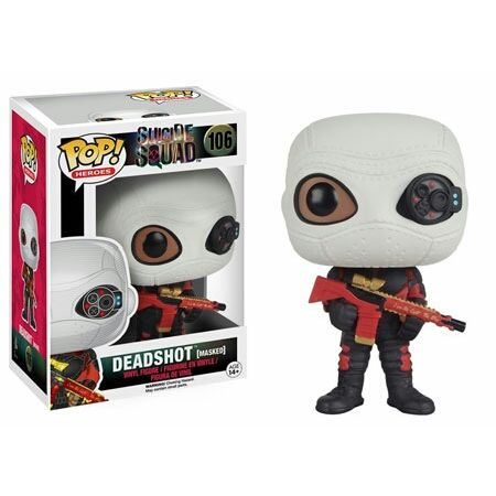 Deadshot (Masked) Pop! Heroes Funko POP! Vinyl