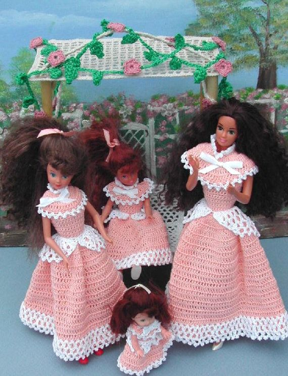 Crochet Fashion Doll Barbie Pattern- #336 SIMPLE and SWEET MAGAZINE ...