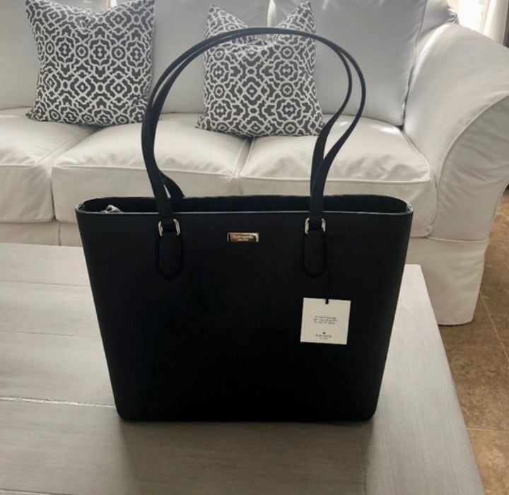 NWT Kate Spade Laurel Way Black Tote Bag