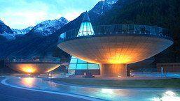 weltweit einzigartig & unvergesslich: die schalenbecken : AQUA DOME für Hotel Bergwelt Gäste INKLUSIVE