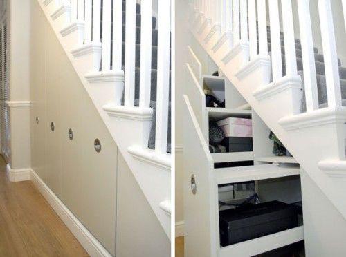 5 Cool Under Stair Storage Ideas