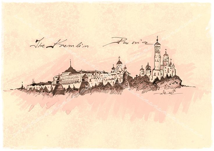 The Moscow Kremlin Russia