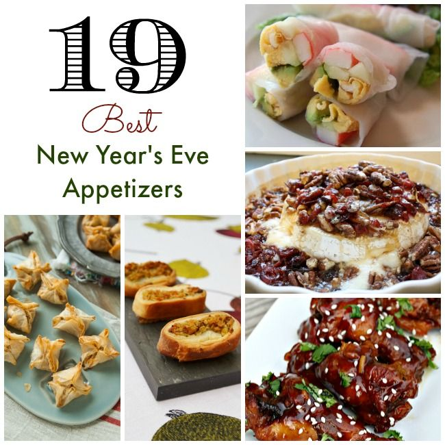 No New Year's Eve party for adults is complete without these amazing appetizers! I personally love appetizers because they're usually less time-intensive to make than a sit down dinner.