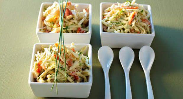 Rémoulade de céleri au crabeVoir la recette de la Rémoulade de céleri au crabe >>