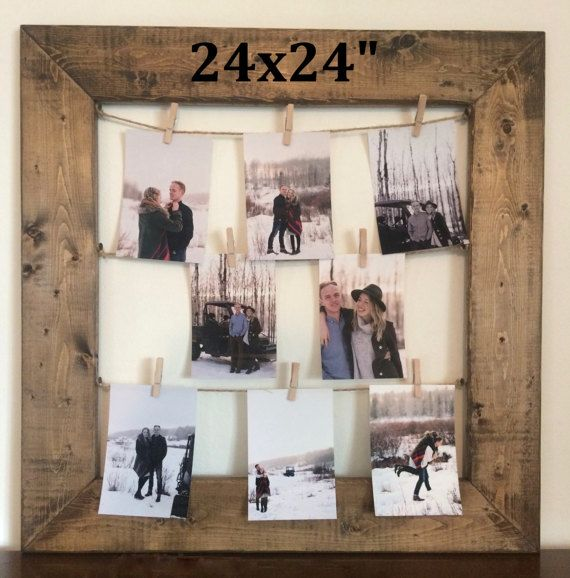 25 unique clothespin picture frames ideas on pinterest decorative frames reclaimed wood. Black Bedroom Furniture Sets. Home Design Ideas