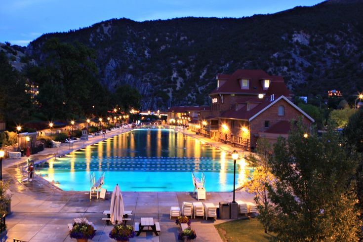 Glenwood Springs Resort Co We Used To Camp In Nearby