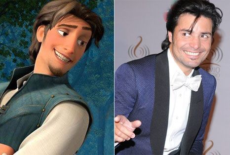Chayanne is the voice of Flynn Ride in Tangled!! (the spanish version)