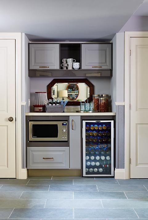 Great family room idea!