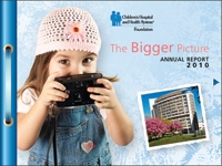Learn how your gift helps the Children's Hospital of Milwaukee, WI!