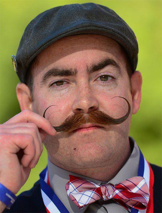 Remarkable 1000 Ideas About Mustache Styles On Pinterest Long Beards Short Hairstyles Gunalazisus