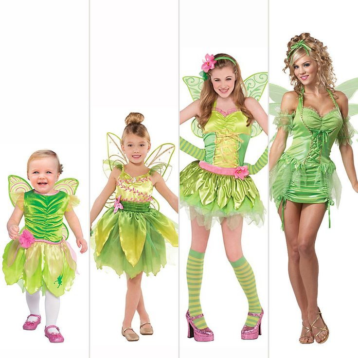 Your old Tinkerbell costume is all grown up