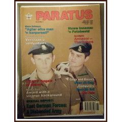 Paratus February 1991. Steve Hofmeyr in the SADF